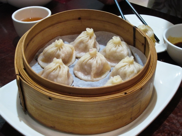Xiao long bao or soupy dumplings