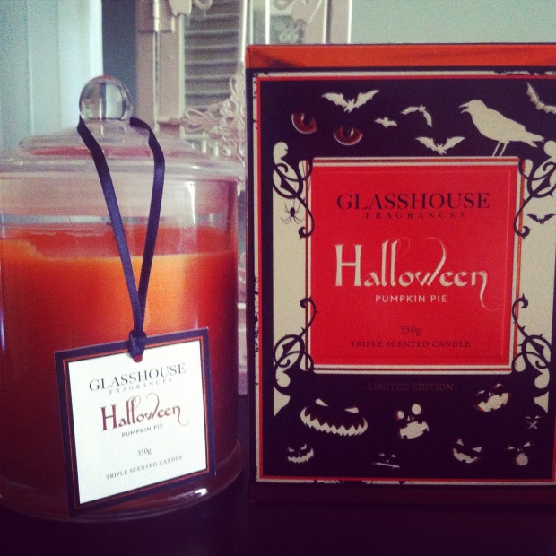 Glasshouse Halloween Scented Candle