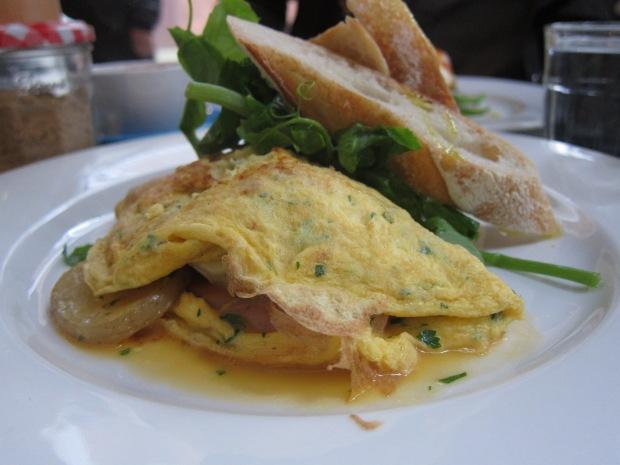 Brie and fondant potato omelette - Hardware Society