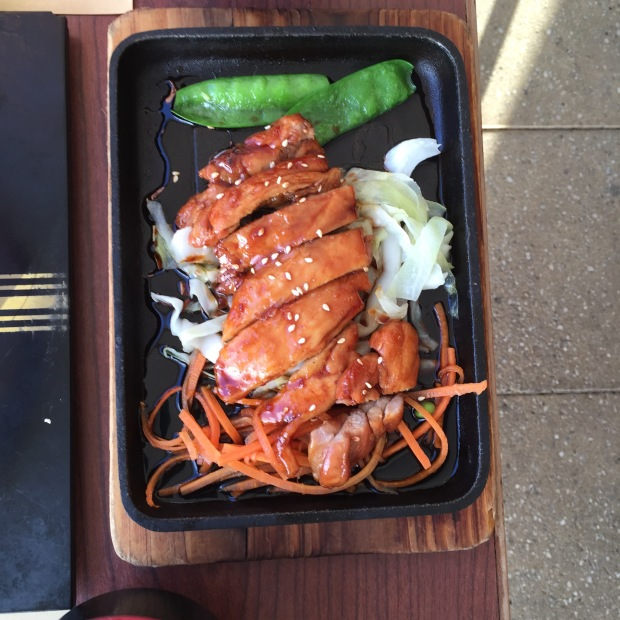 Chicken teriyaki - $35.50