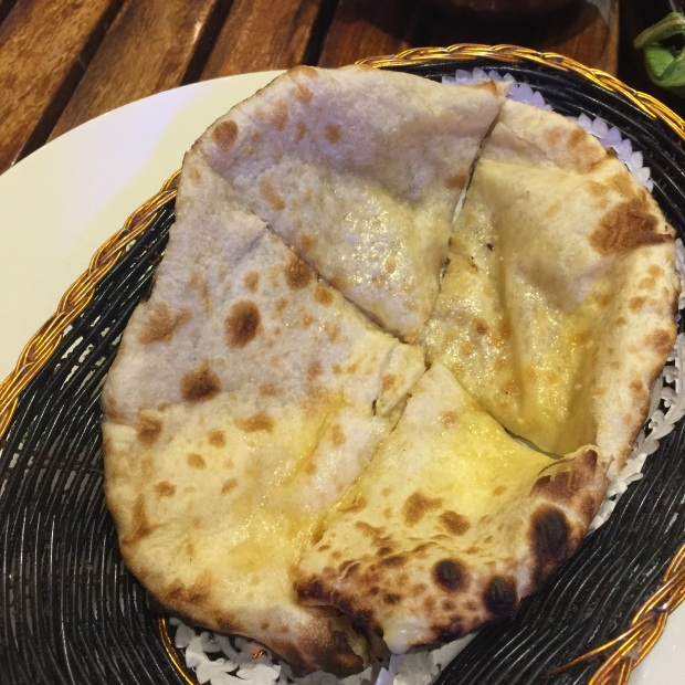 Cheese Naan - $4.50
